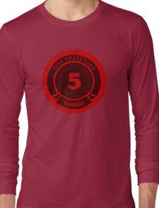 5 Posts Club Tumblr Long Sleeve T-Shirt