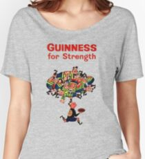 Guinness Vintage Rugby Ad Women's Relaxed Fit T-Shirt