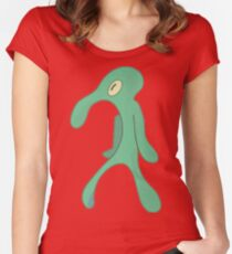 Transparent Bold and Brash Women's Fitted Scoop T-Shirt