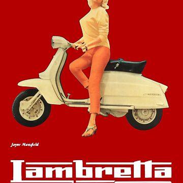 Vintage Lambretta Ad by masseygoose