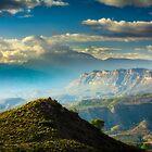 Sidelight on the ridge by Ralph Goldsmith