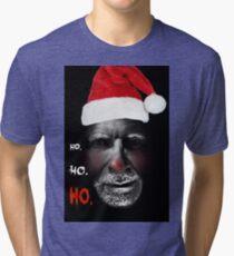 Creepy Santa Tri-blend T-Shirt