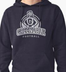 Greendale - Football Pullover Hoodie