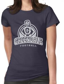 Greendale - Football Womens Fitted T-Shirt