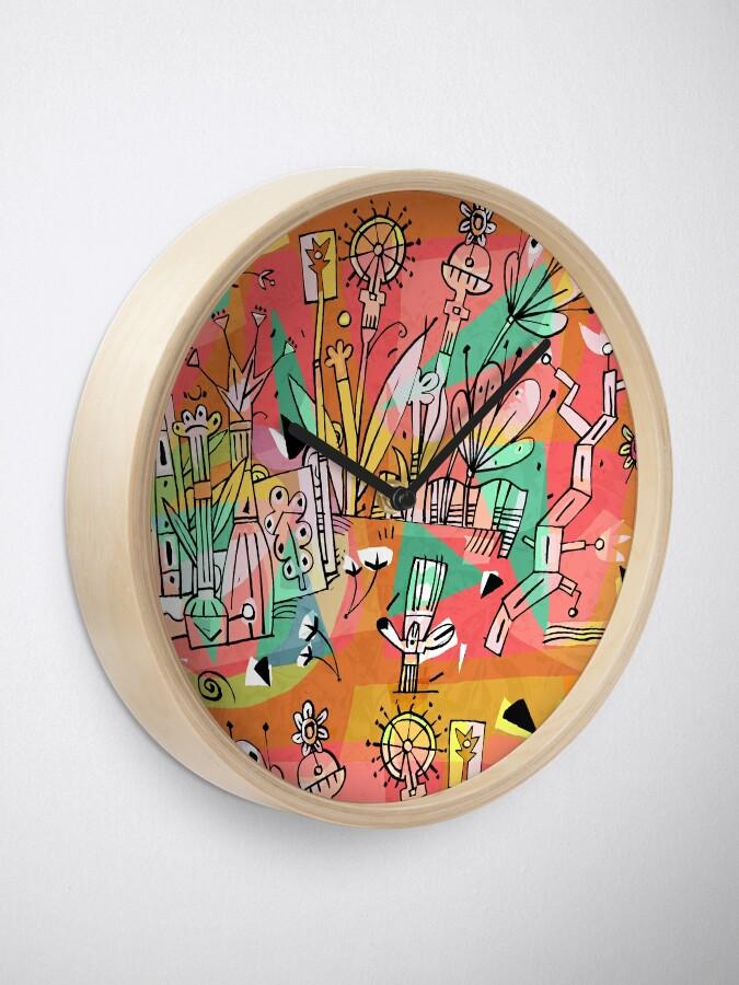 Alternative Ansicht von Wiese Uhr