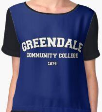 Greendale Community College Chiffon Top