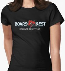 Dukes of Hazzard - Boar's Nest T-Shirt (Modern Redesign) Women's Fitted T-Shirt