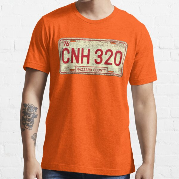 Dukes of Hazzard - General Lee License Plate Essential T-Shirt