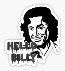 Hello Billy [grey-ish] Sticker