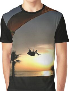 Dropzone At Dusk Graphic T-Shirt