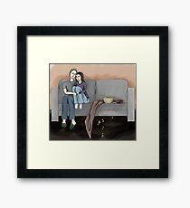 Domestic FitzSimmons Framed Print