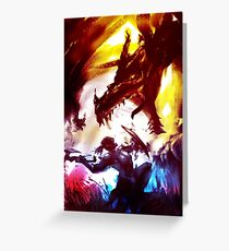 Skyrim - Dragonborn Greeting Card