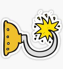 cartoon pirate hook Sticker