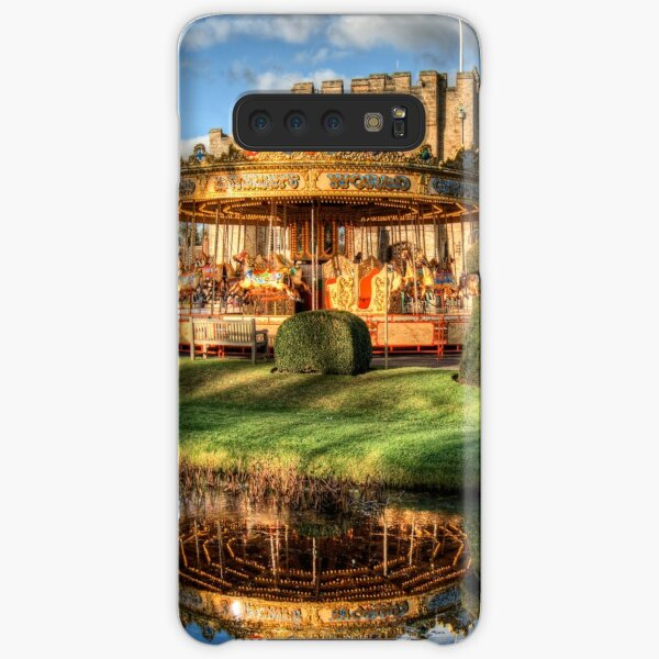 Carousel at Hever Castle. Samsung Galaxy Snap Case