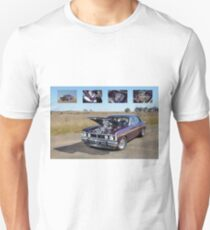 Supercharged 1970 Wild Violet Ford Falcon XY T-Shirt