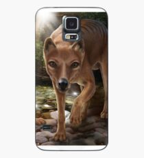 Tasmanian tigers (Thylacines) mother & pup Case/Skin for Samsung Galaxy