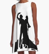 flamenco dancers A-Line Dress