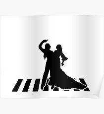 flamenco dancers Poster