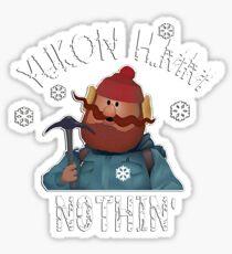 YUKON CORNELIUS T SHIRT Sticker