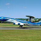 Boeing E-3A Sentry LX-N90442 Anniversary Colours by Colin Smedley