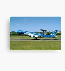 Boeing E-3A Sentry LX-N90442 Anniversary Colours Canvas Print