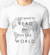 Read and See the World Unisex T-Shirt