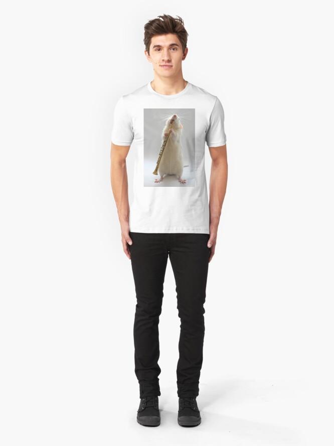 Alternate view of My Clarinet. Slim Fit T-Shirt