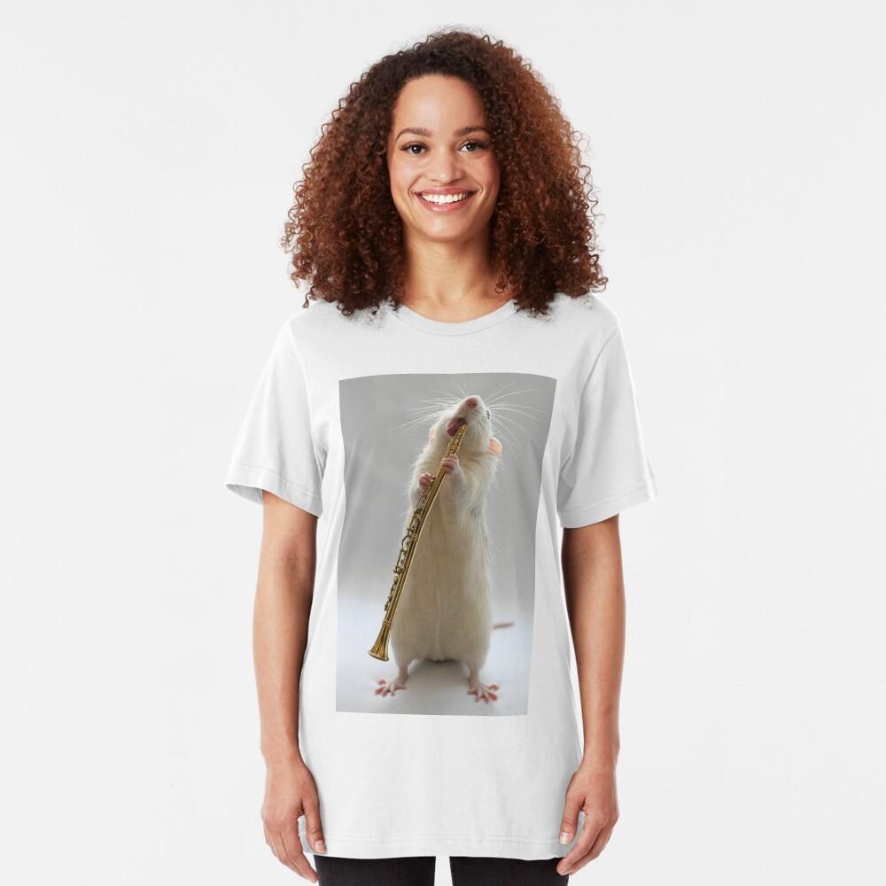 My Clarinet. Slim Fit T-Shirt
