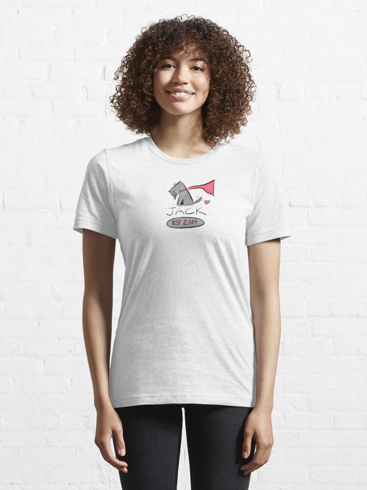 Alternate view of Jack - Est. 2009 Essential T-Shirt