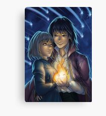 Howl's moving castle • Sophie & Howl Canvas Print