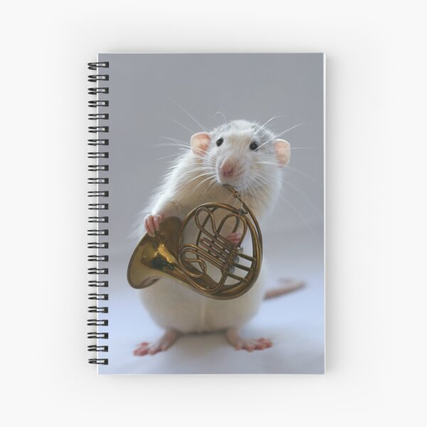 French horn. Spiral Notebook
