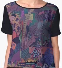 GLASS ANIMALS // ZABA Women's Chiffon Top