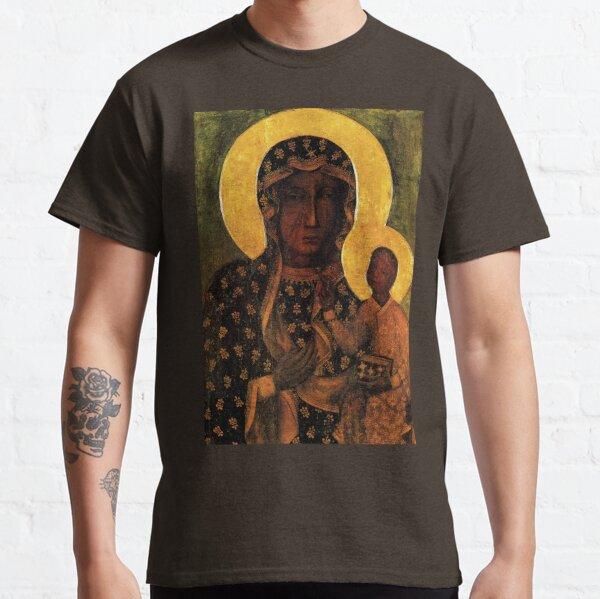 Black Madonna of Czestochowa Poland, Our Lady of Czestochowa, Madonna and Child, Virgin Mary Classic T-Shirt