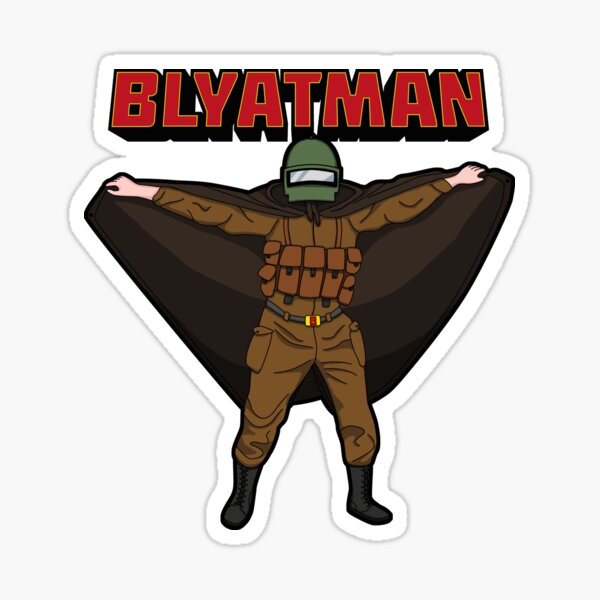 BLYATMAN Sticker
