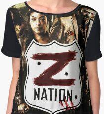 Z nation - cast Chiffon Top