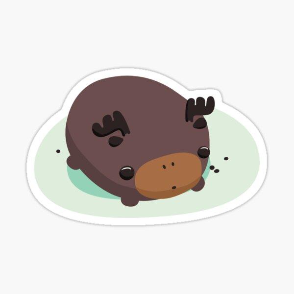 Chocolate Moosle Sticker
