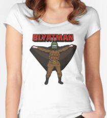 BLYATMAN Tailliertes Rundhals-Shirt