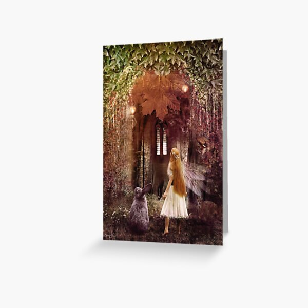 Faerie Road, A Fairytale Greeting Card