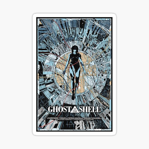 Ghost in the Shell  Sticker
