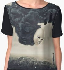 The Selfie A Dark Surrealism Chiffon Top