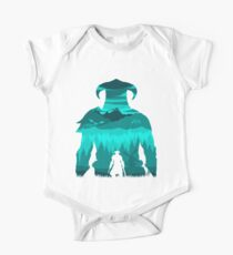 Dragonborn Silhouette Kids Clothes