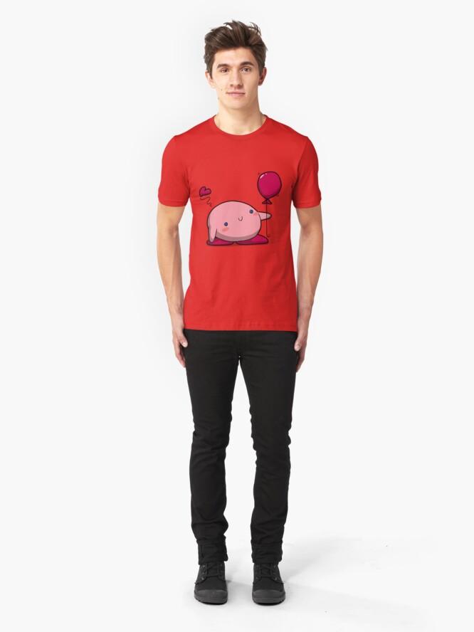 Alternate view of Little Pink Balloon Slim Fit T-Shirt