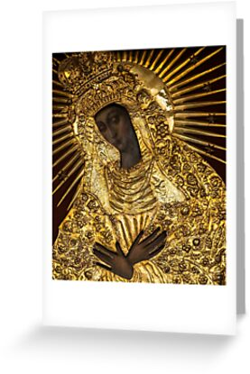 Black Madonna, Our Lady of Grace, Our Lady of the Gate of Dawn, Mother of Mercy by tanabe