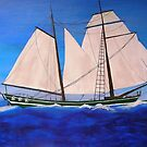 Sailing Away by Maryann Harvey