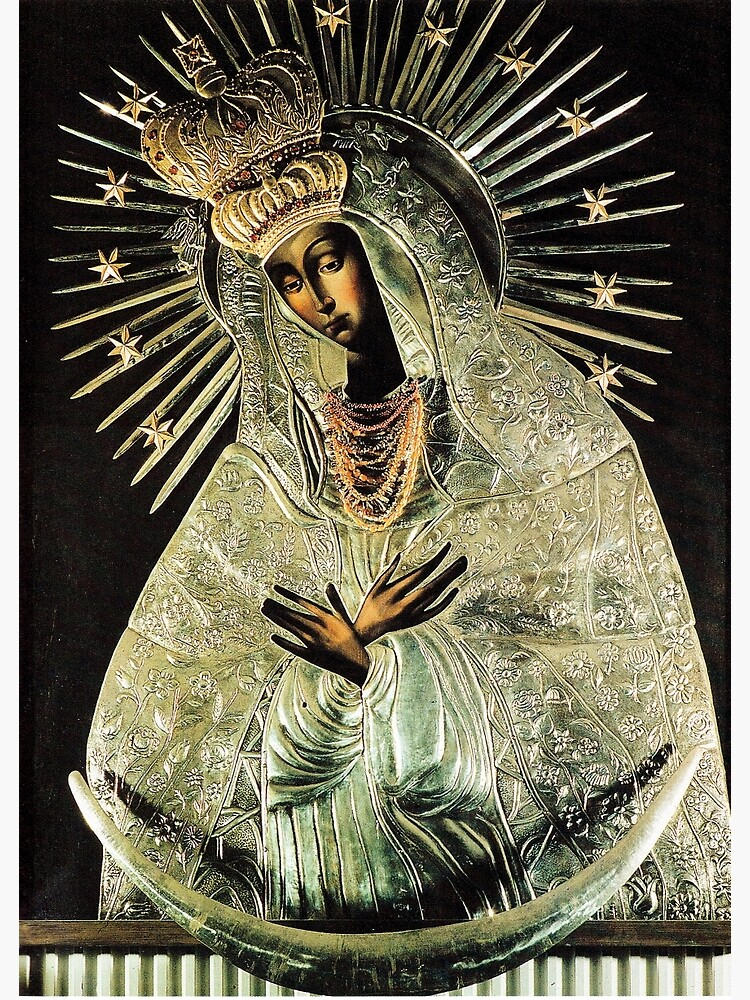 Black Madonna, Our Lady of Grace, Our Lady of Gate of Dawn, Virgin Mary by tanabe