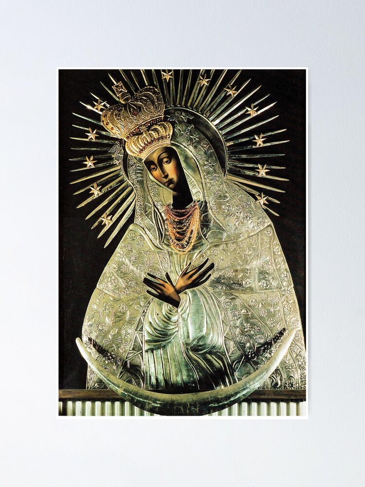 Alternate view of Black Madonna, Our Lady of Grace, Our Lady of Gate of Dawn, Virgin Mary Poster