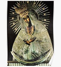 Póster Virgen Negra, Nuestra Señora de la Gracia, Nuestra Señora de la Puerta del Alba, Virgen María