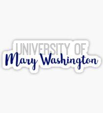 University of Mary Washington Sticker