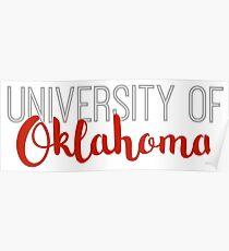 University of Oklahoma Poster