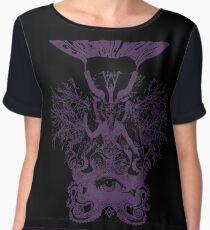 Electric Wizard - Baphomet (Purple) Chiffon Top